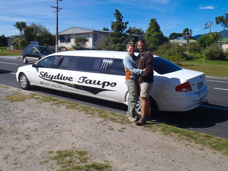 things to do in new zealand skydive taupo