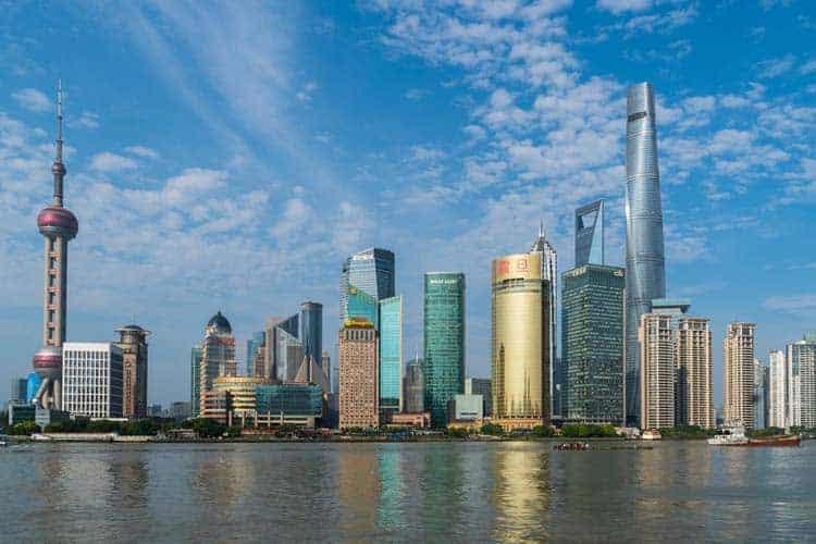 shanghai skyline | pudong