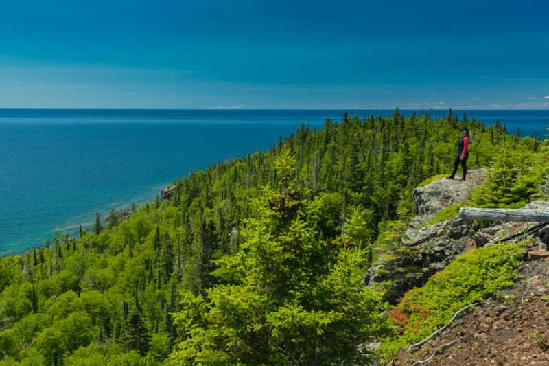 A View to remember from the Slate Islands on Lake Superior