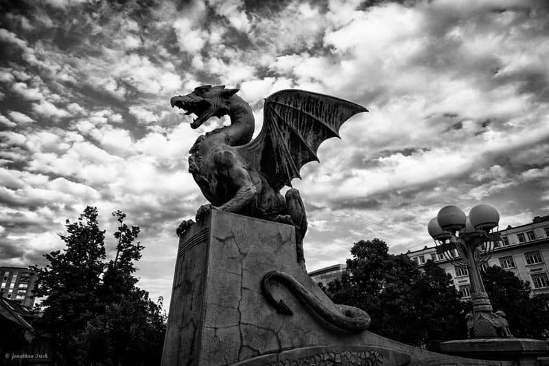 slovenia photos dragon