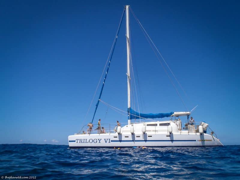 snorkeling lanai boat