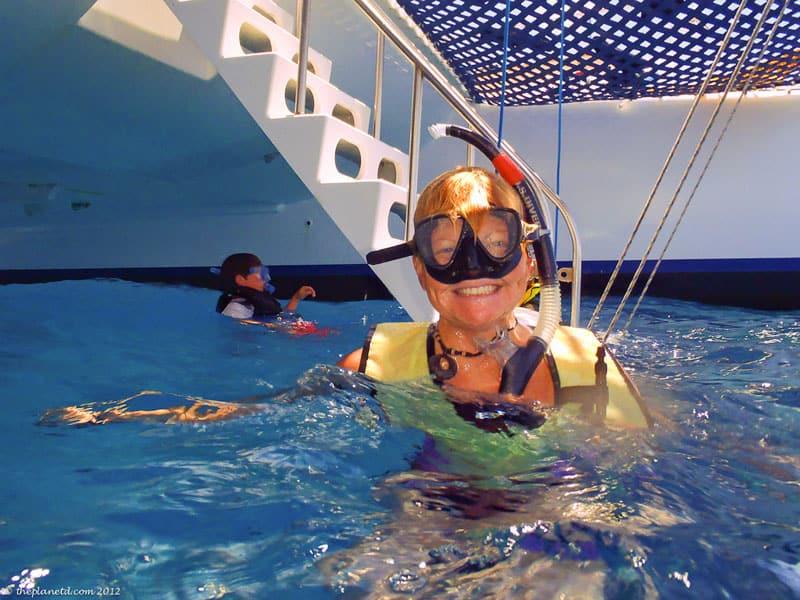 lanai snorkel trips deb