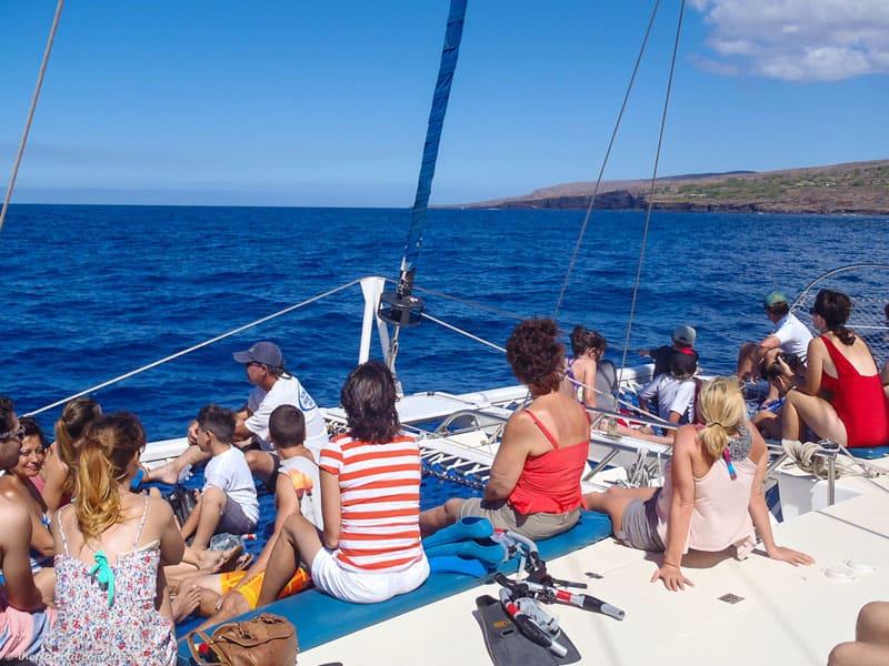 snorkeling lanai group