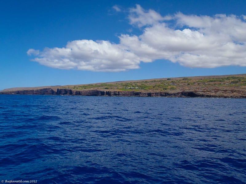 snorkeling lanai land