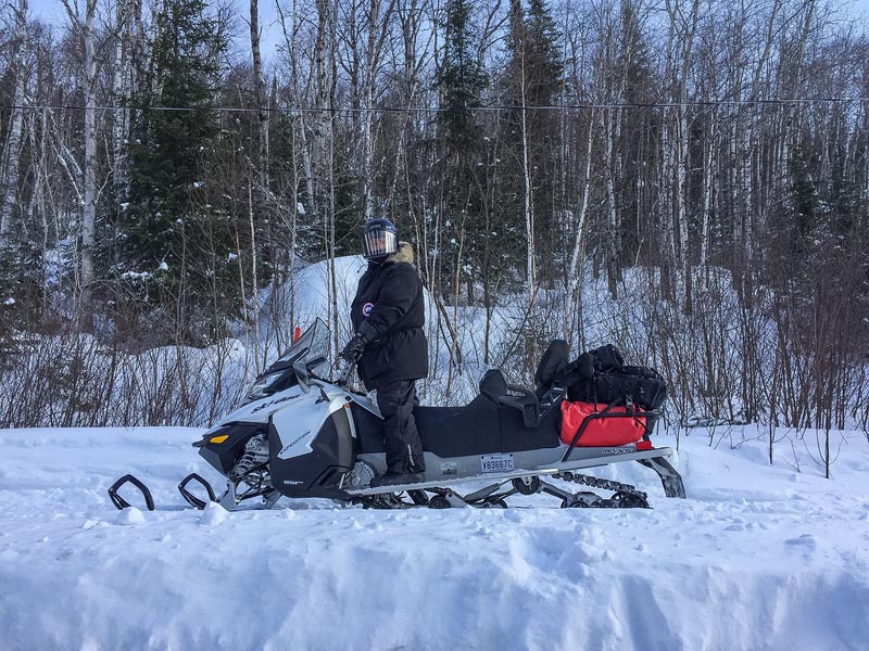 quebec snowmobile trails