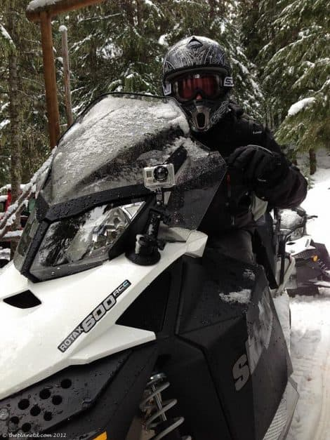 snowmobiling whistler BC