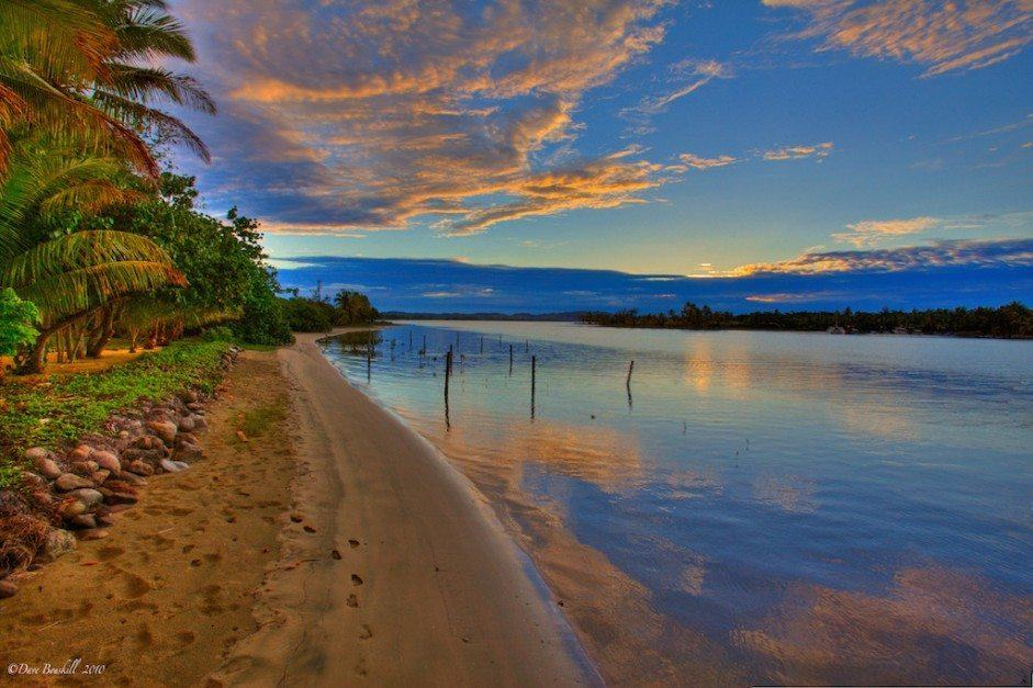 what to do in fiji - Sunset in Fiji