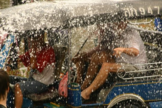 Stuck in a Tuk Tuk