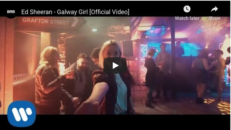 best songs about travel | galway girl