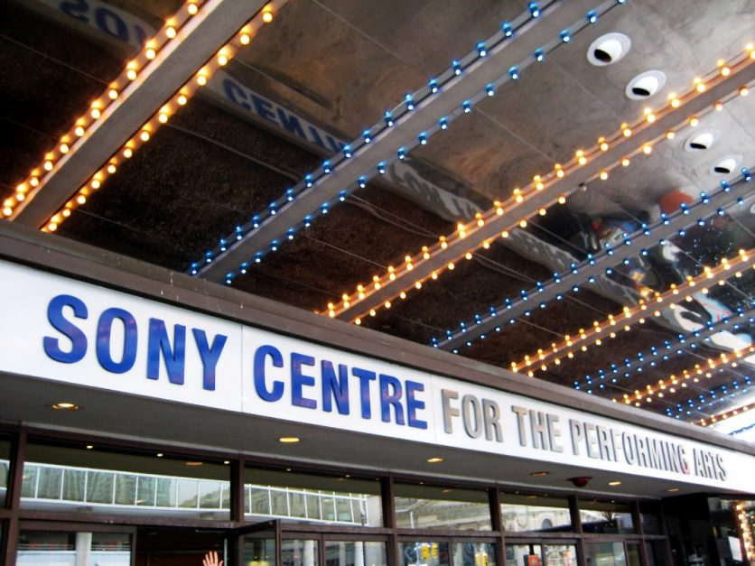 what to see in toronto sony centre