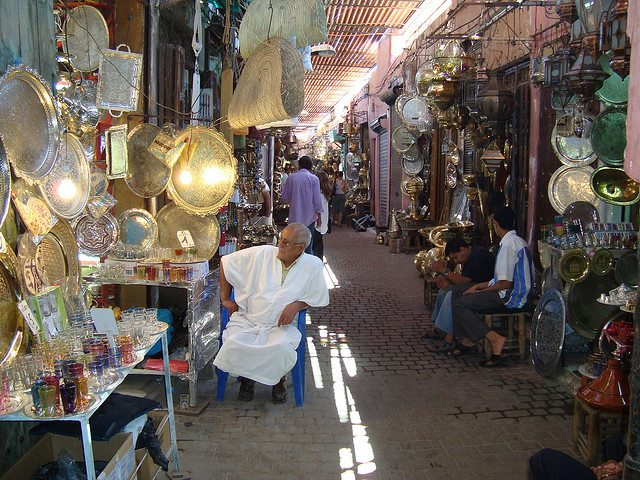 places to visit in Africa | Marrakesh Souks