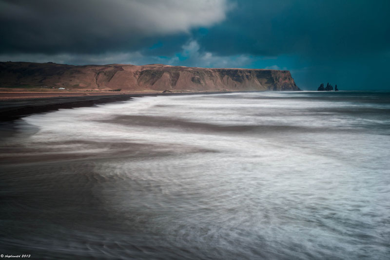 beach southern iceland