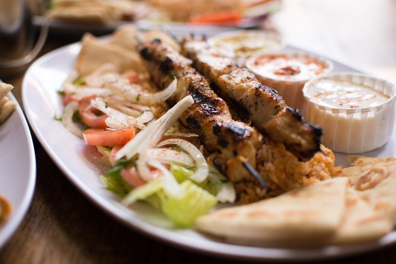 souvlaki fast food greece