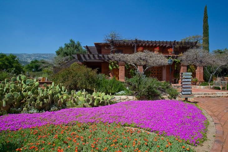 spa mexico garden