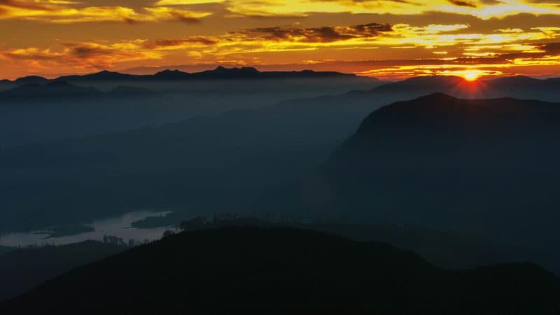 sri lanka photos sunset