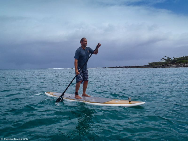 stand up paddle board maui ocean