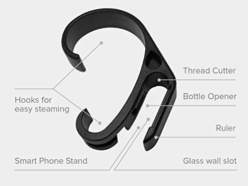 minimalist travel gadgets | steam clip