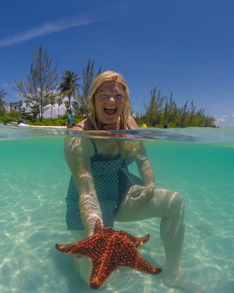 deb with starfish