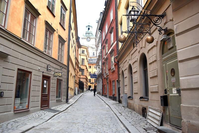 stockholm on a budget alleys
