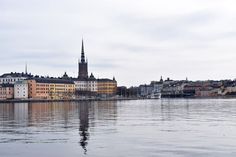 waterfront of Stockholm | budget travel