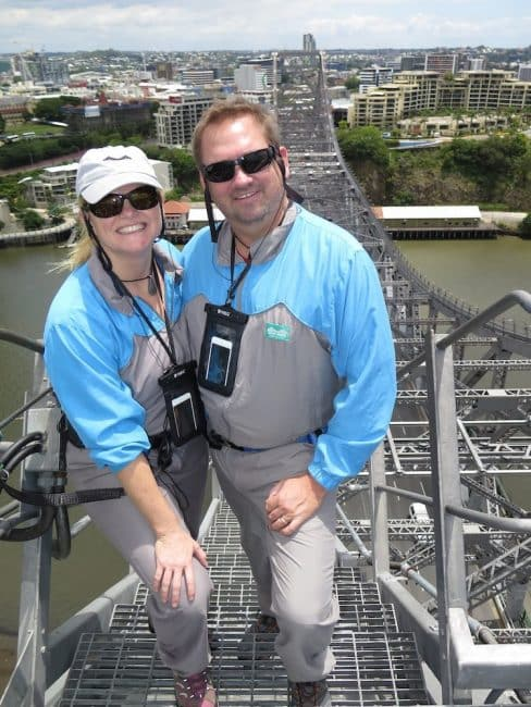 One of the fun things to do in Brisbane is Taking on the Story Bridge Climb