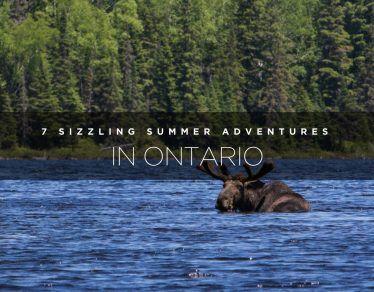 summer adventures in Ontario