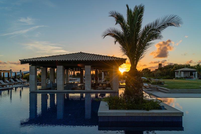 sunset at consta navarino westin resort