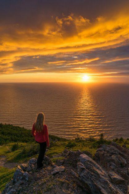 sunset deb