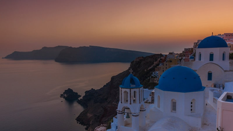 Santorini Photography Guide Blue Domes