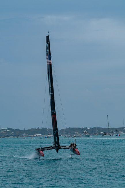 superyacht regatta americas cup foils