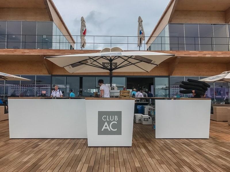 superyacht regatta americas cup lounge