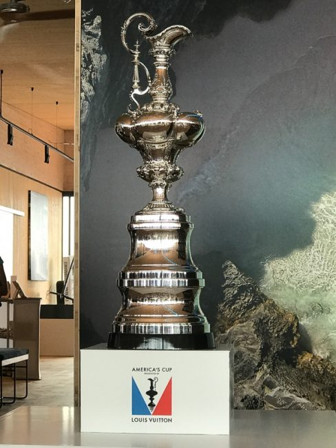 superyacht regatta americas cup trophy