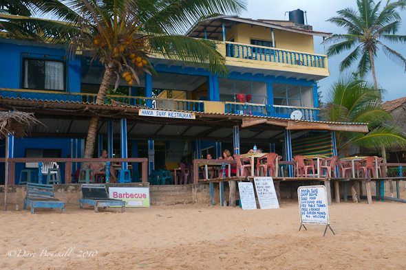 The Hansa Surf Hotel, surfers hang out
