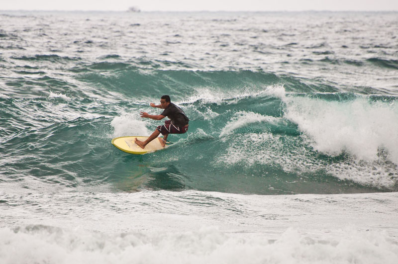 gliding waves