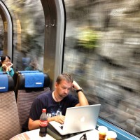 travel blogging on swiss rail