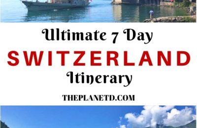 Switzerland Itinerary - One Week in Switzerland