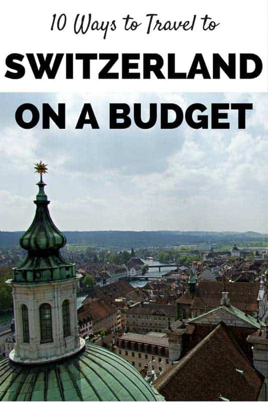 Switzerland on a budget