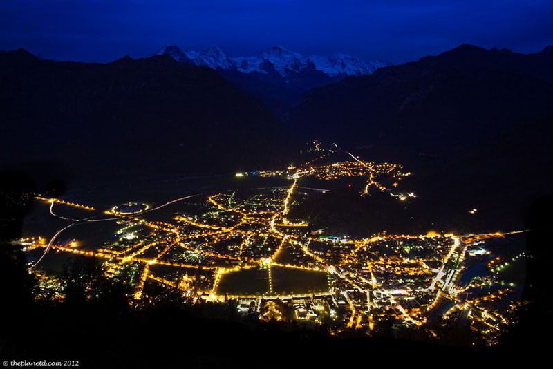 interlaken night