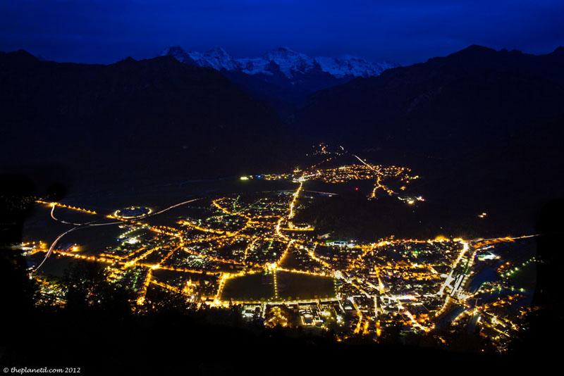 interlaken night