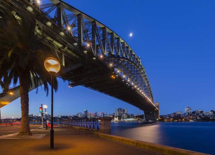 city skylines | sydney harbour bridge