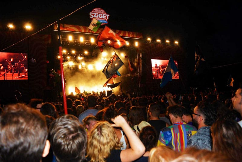 sziget festival music