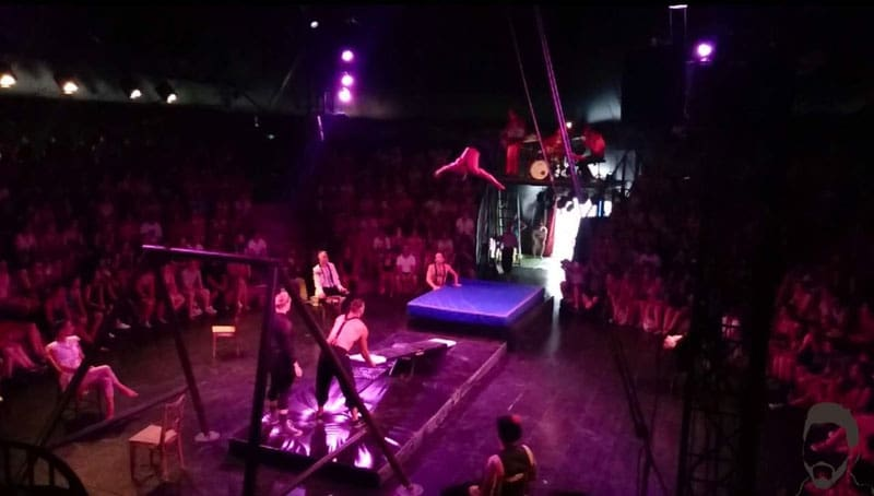 sziget festival trapeze