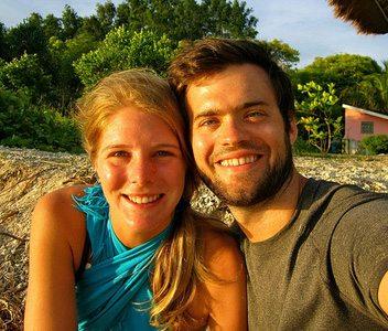 adventure couple Josh and Caroline