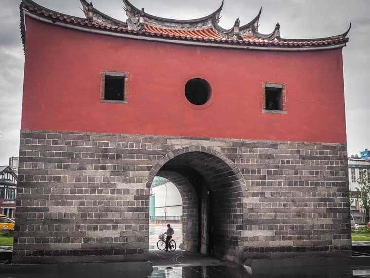 Beimen Gate | Taiwan itinerary