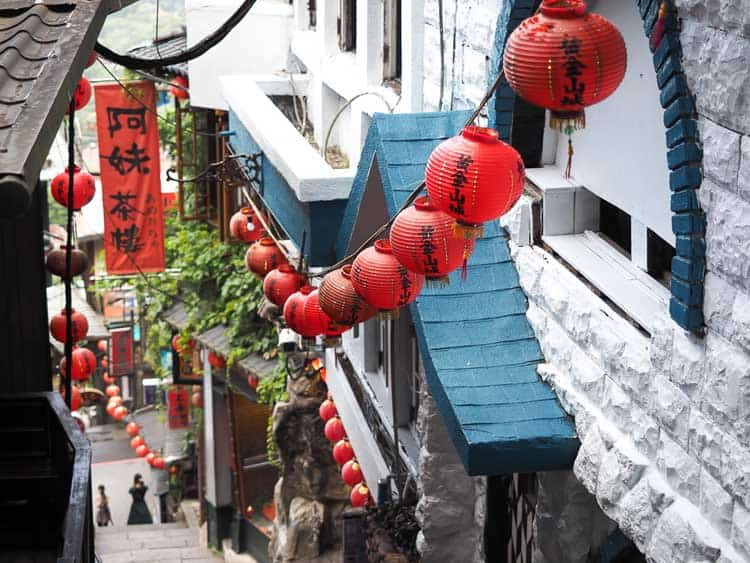 jiufen district taipei | taiwan itinerary day 3