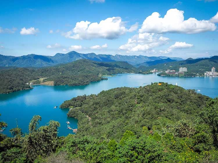 taiwan itinerary | sunmoon lake