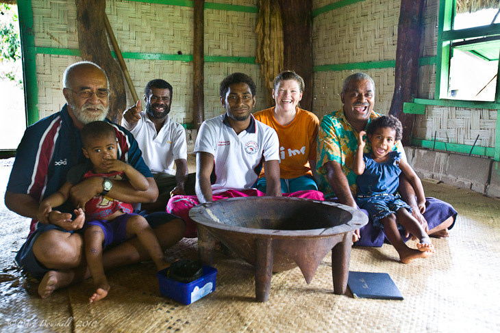 tao villages fiji family