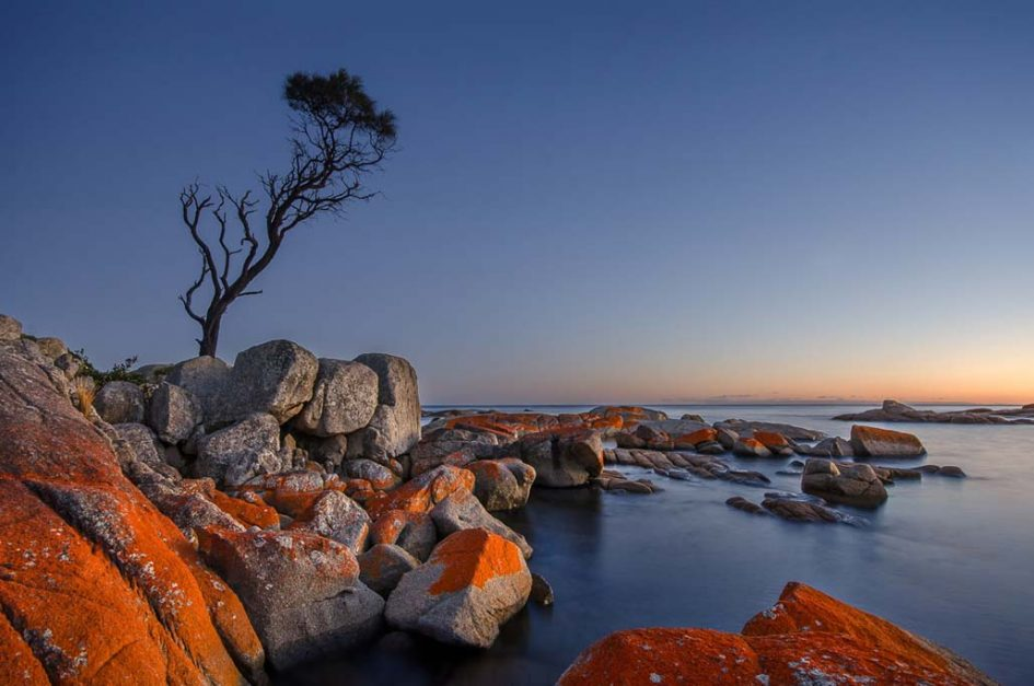 what to do in Tasmania Bay of Fires.