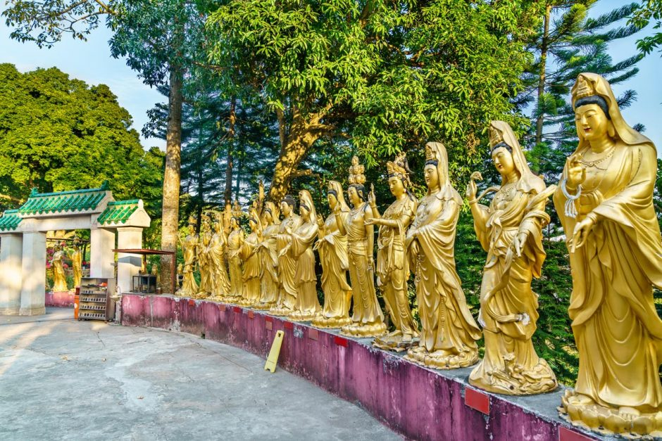 ten thousand buddhas monastery featured image
