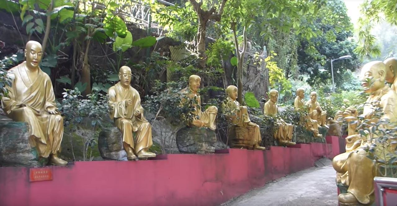 buddhas temple hong kong